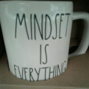 Rae Dunn mug ' MINDSET IS EVERYTHING '